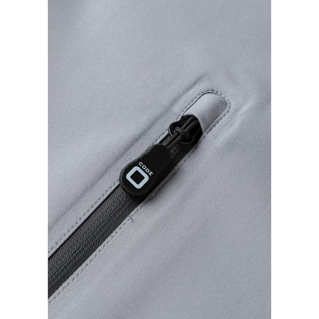 CODE-ZERO Softshellweste »Halyard«, Reißverschluss