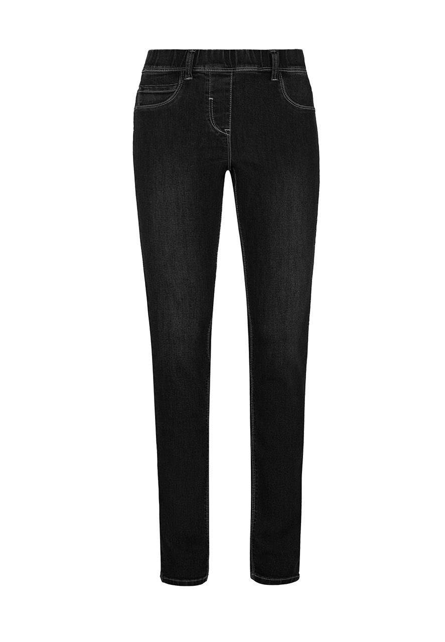MILLION-X Röhrenjeans Happy Fit Belt Loops | Bekleidung > Jeans > Röhrenjeans | Schwarz | Million-X