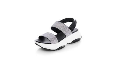 Alba Moda Sandalette mit Strasssteinchen kaufen