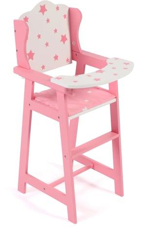 """CHIC2000 Puppenhochstuhl """"Stars pink"""" kaufen"""