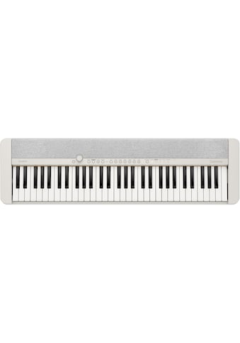 CASIO Keyboard »Piano-Keyboard-Set CT-S1WESET«, ideal für Piano-Einsteiger und... kaufen
