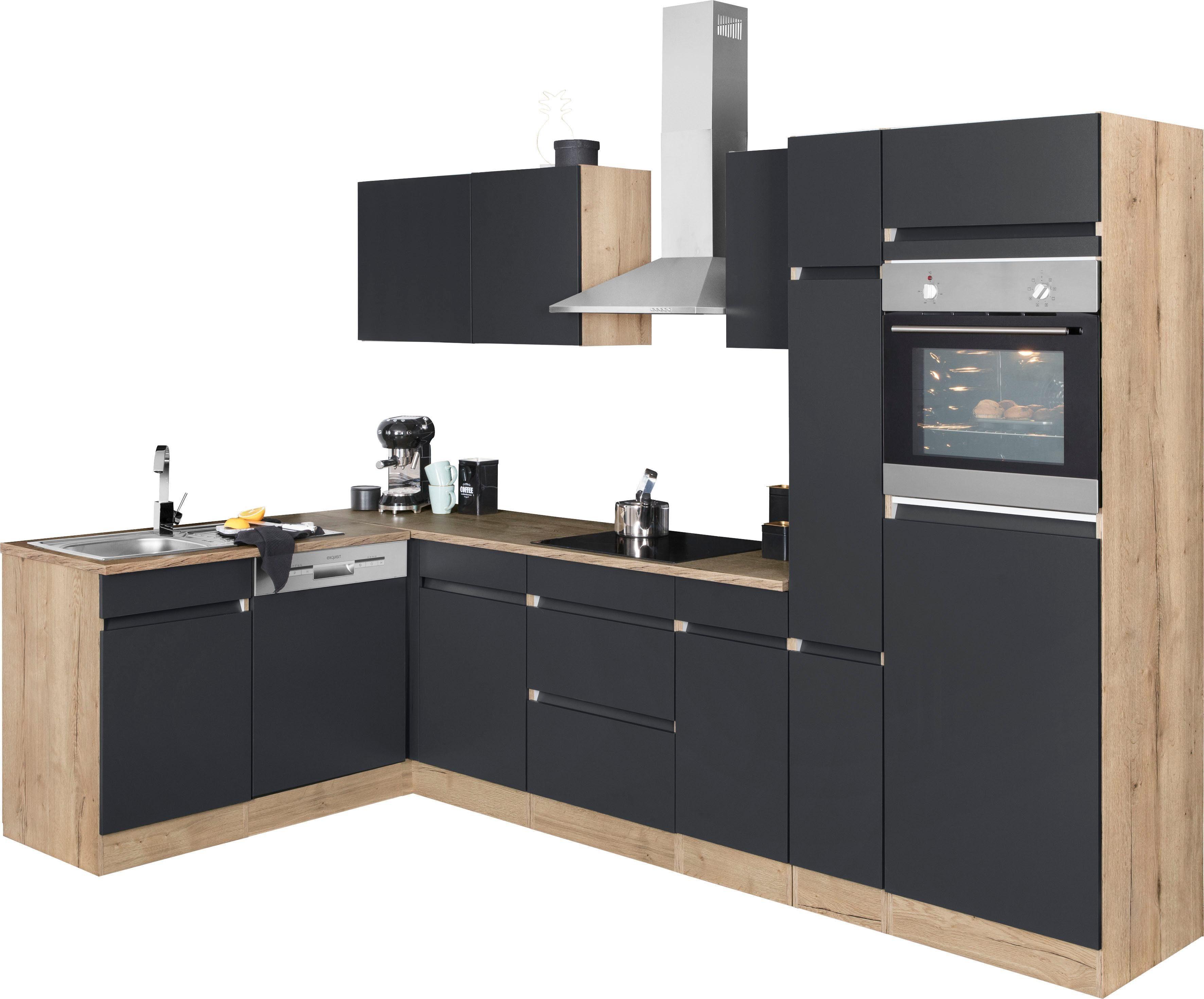 OPTIFIT Winkelküche Roth ohne E-Geräte Stellbreite 300 x 175 cm