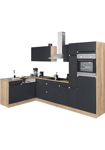 OPTIFIT Winkelküche »Roth«, mit E-Geräten, Stellbreite 300 x 175 cm kaufen
