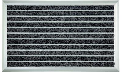 ASTRA Fußmatte »Exclusiv Mat«, rechteckig, 13 mm Höhe, Fussabstreifer, Fussabtreter, Schmutzfangläufer, Schmutzfangmatte, Schmutzfangteppich, Schmutzmatte, Türmatte, Türvorleger, extrem strapazierfähig kaufen