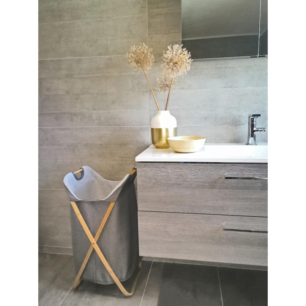 locker Wäschekorb »Textil«