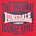 Lonsdale Badeshorts mit coolem Markenprint