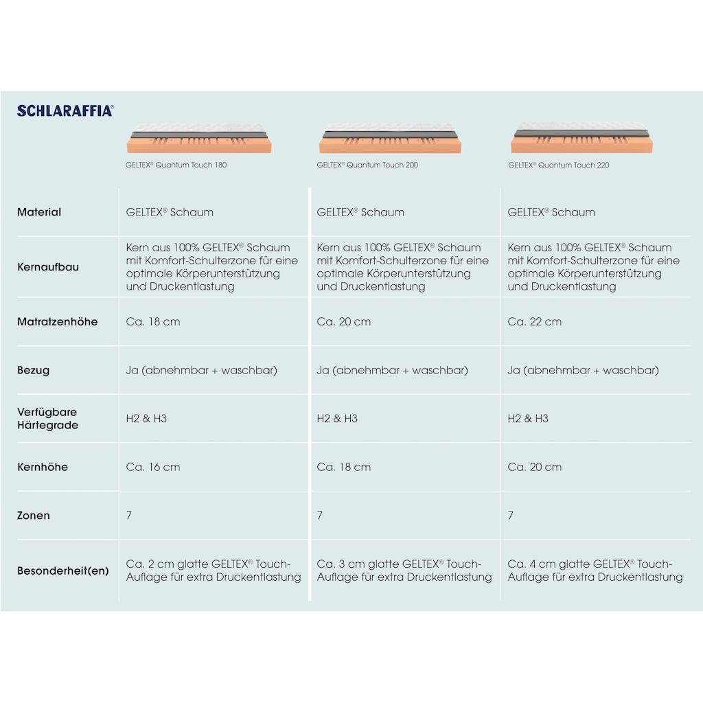 Schlaraffia Gelschaummatratze »GELTEX® Quantum Touch 180«, (1 St.), 90 Nächte Probeschlafen!*