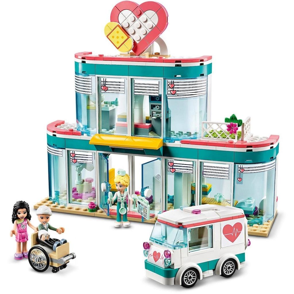 LEGO® Konstruktionsspielsteine »Krankenhaus von Heartlake City (41394), LEGO® Friends«, (379 St.)