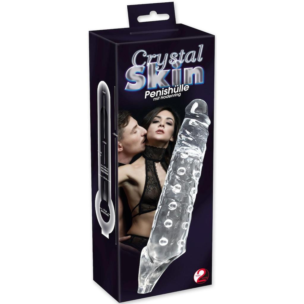 """Crystal Clear Penishülle """"Crystal Skin"""""""