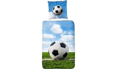 good morning Kinderbettwäsche »Bal«, mit Fußball kaufen