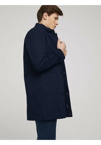 TOM TAILOR Trenchcoat »kurzer Mantel aus Twill« kaufen