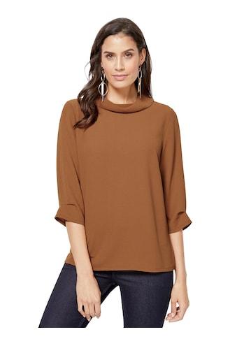 Creation L Bluse mit kastig - geradem Schmeichelschnitt kaufen