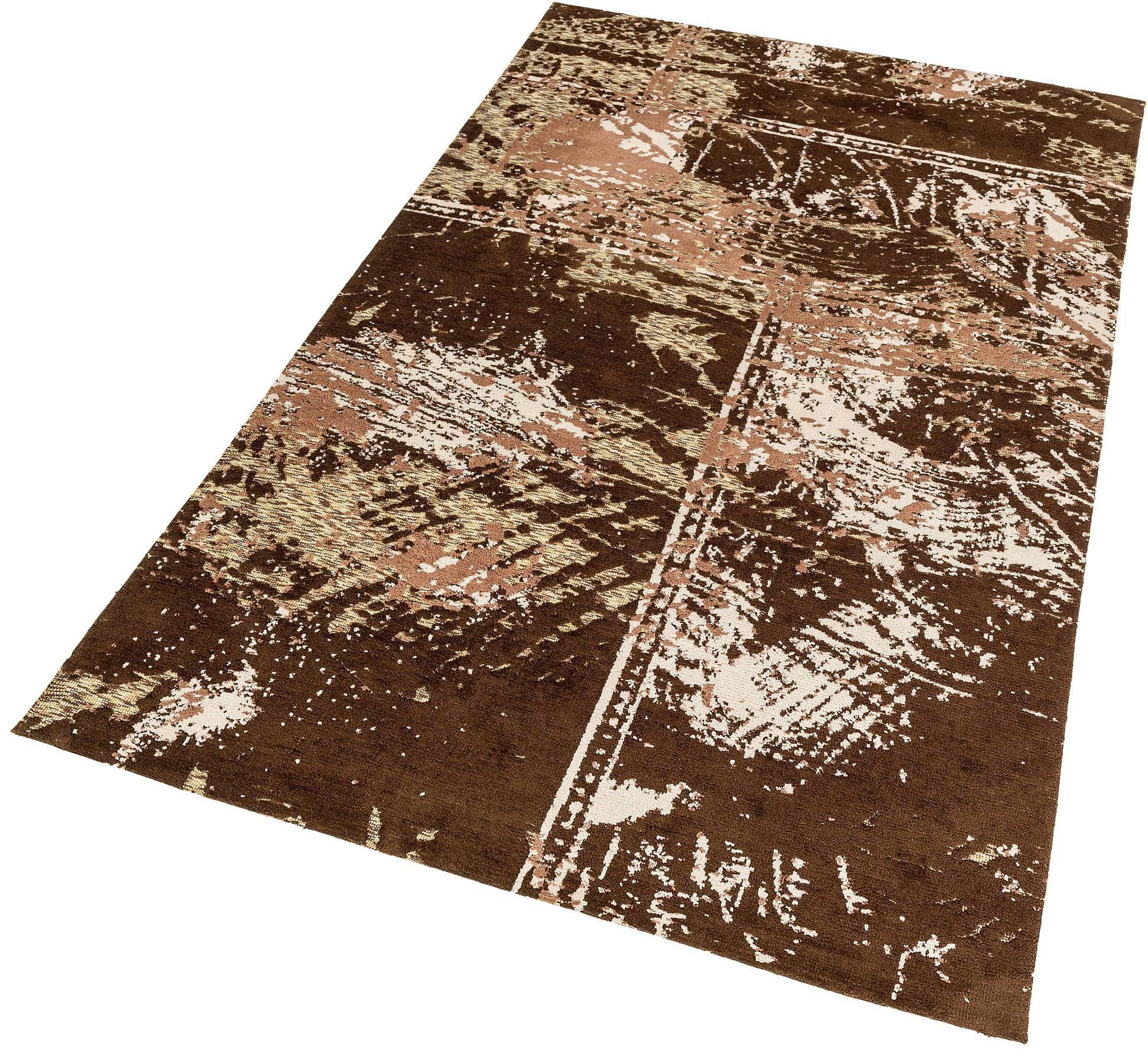 Teppich Teramo Patchwork ASTRA rechteckig Höhe 13 mm