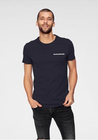 Calvin Klein Jeans T-Shirt »CHEST INSTITUTIONAL SLIM TEE« kaufen