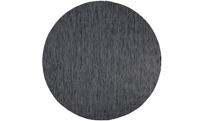 Home affaire Teppich »Venedig«, rund, 5 mm Höhe, Sisal-Optik, In- und Outdoor geeignet, Wohnzimmer kaufen
