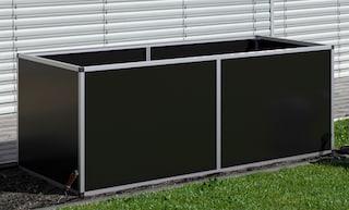 Kgt Hochbeet Aluminium Bxtxh 205x91x77 Cm Online Bestellen Baur