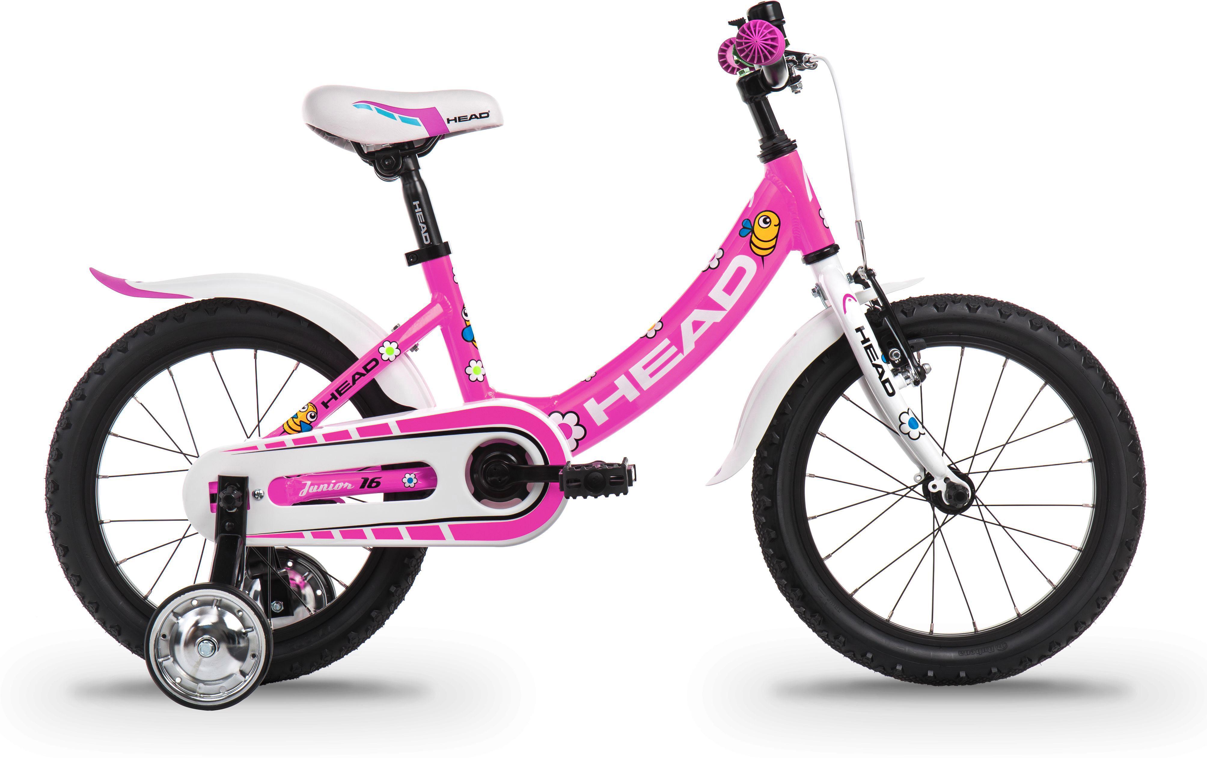 Head Kinderfahrrad Junior, 1 Gang rosa Kinder Kinderfahrräder Fahrräder Zubehör Fahrrad