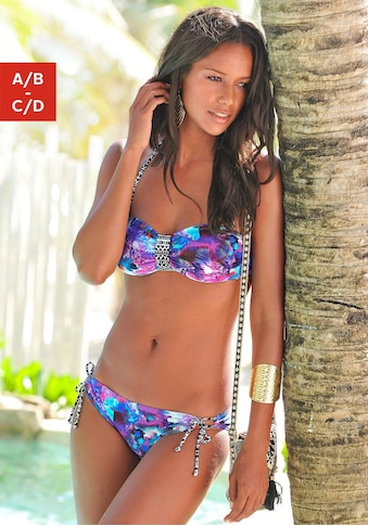 Venice Beach Bandeau-Bikini-Top »Spring«, im Kontrast-Design kaufen