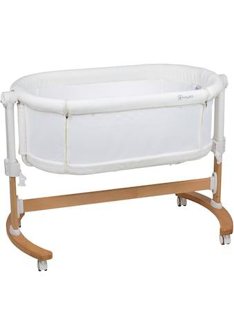 BabyGo Beistellbett, »Amila, beige white« kaufen