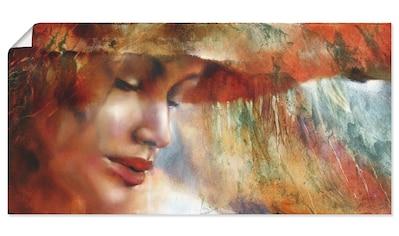 Artland Wandbild »Ricarda«, Frau, (1 St.), in vielen Größen & Produktarten - Alubild /... kaufen