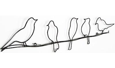 Art for the home Metallbild »Metal Art - Vogel«, (1 St.) kaufen
