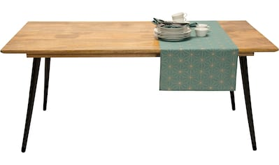 TOM TAILOR Esstisch »T-SOHO TABLE LARGE«, aus Mangoholz, Breite 180 cm kaufen
