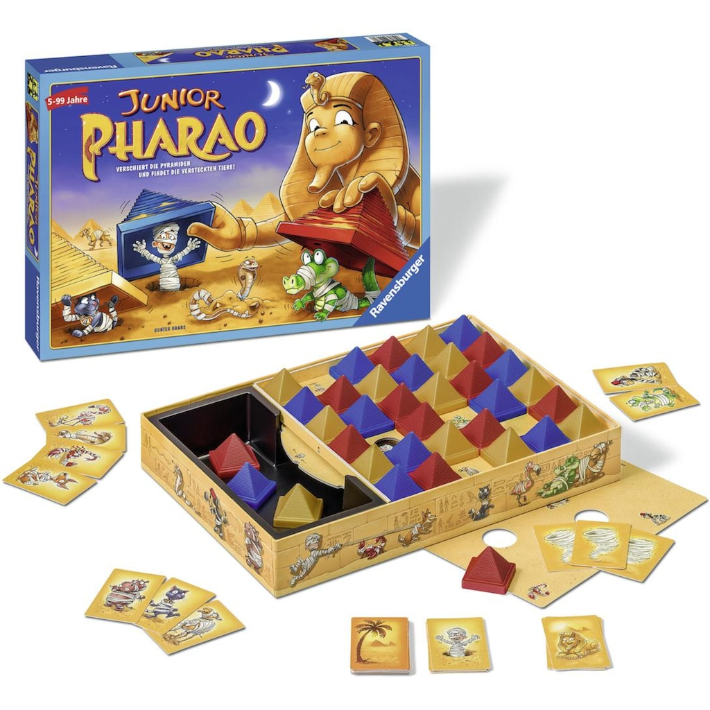 Ravensburger Spiel »Junior Pharao«, Made in Europe, FSC® - schützt Wald - weltweit