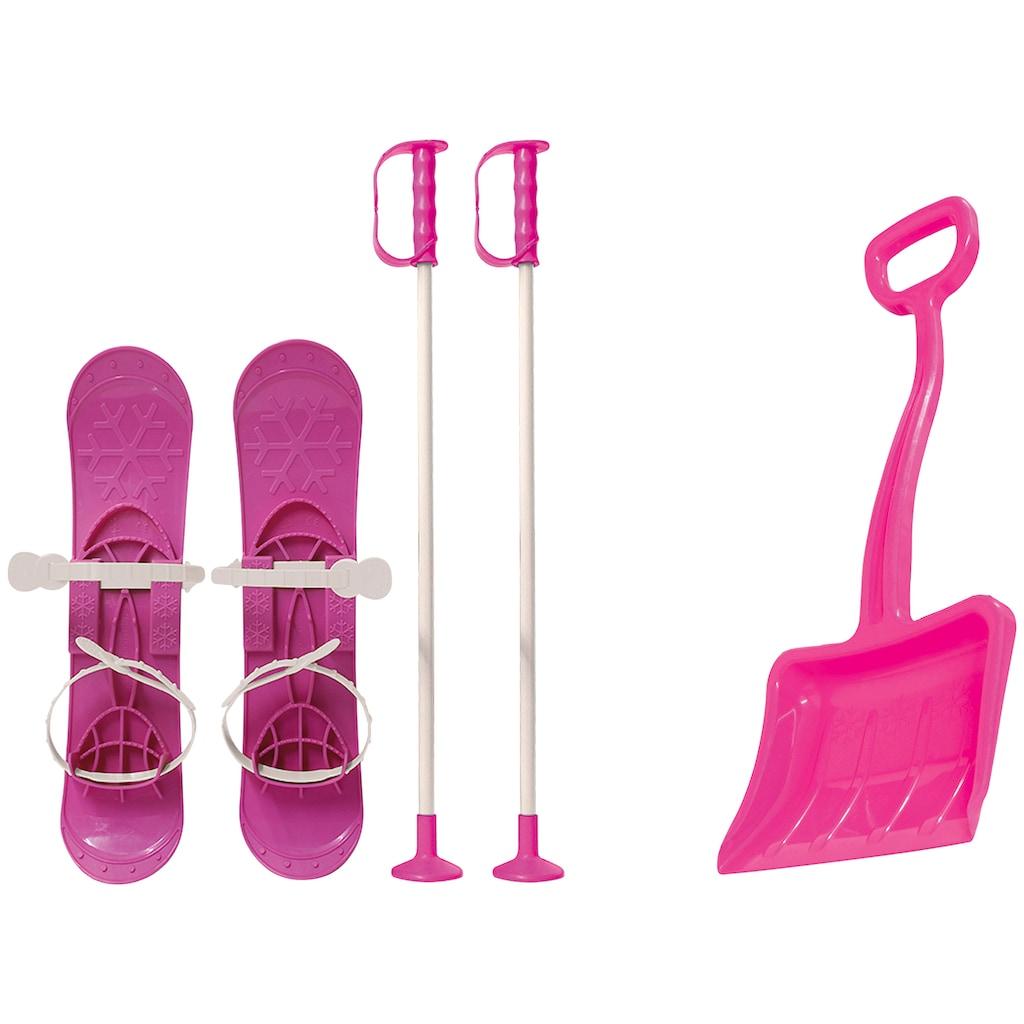 JAMARA Set: Kinderski »Snow Play Set 1«, mit Skistöcken und Schneeschaufel