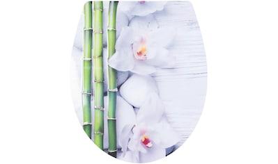 CORNAT WC-Sitz »Bambus«, Relief-Motiv kaufen