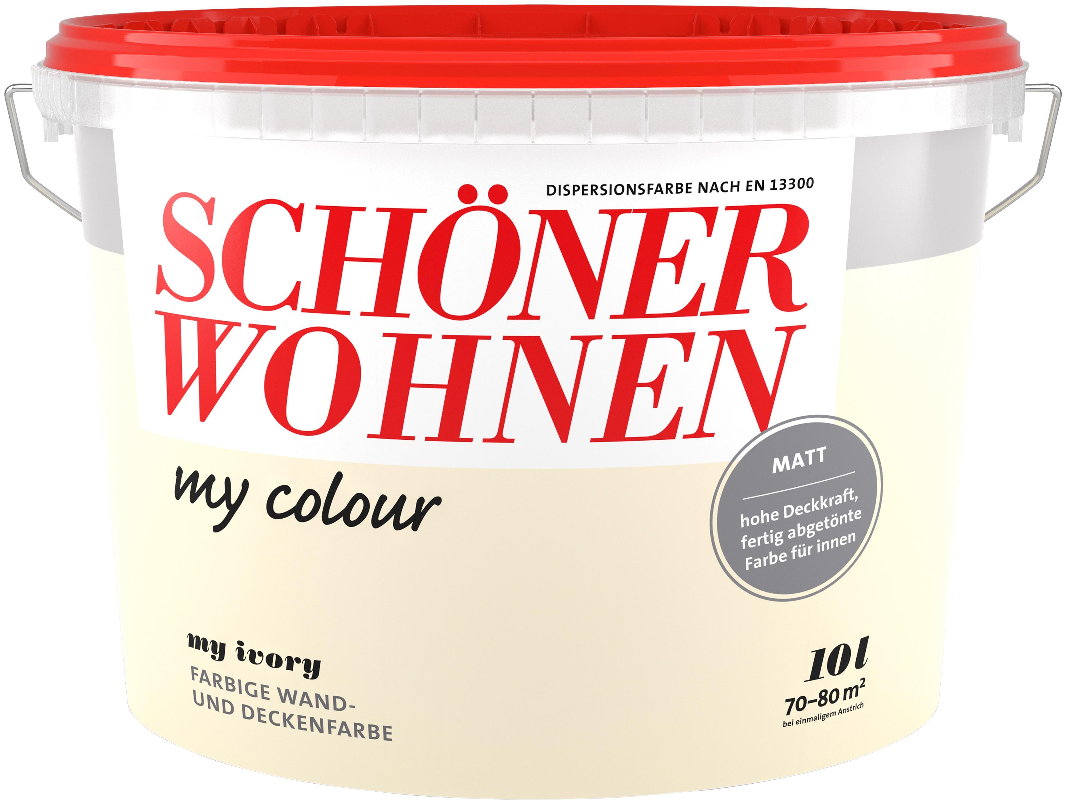 SCHÖNER WOHNEN FARBE Wand- Und Deckenfarbe »my Colour