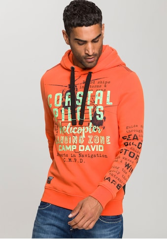 CAMP DAVID Kapuzensweatshirt, mit großem Logofrontprint kaufen