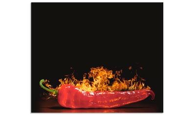 Artland Küchenrückwand »Roter scharfer Chilipfeffer« kaufen