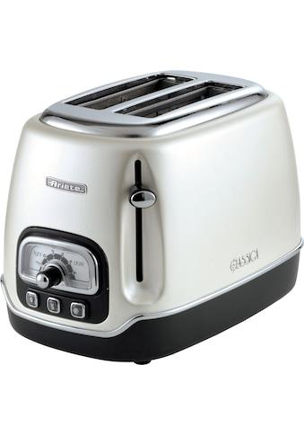 Ariete Toaster »Classica perlmutt 158PE«, 2 kurze Schlitze, für 2 Scheiben, 815 W kaufen
