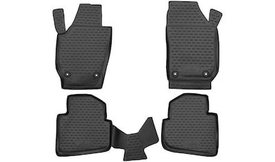 WALSER Passform-Fußmatten »XTR«, (4 St.), für Opel Meriva B Bj 06/2010 - 03/2017 kaufen