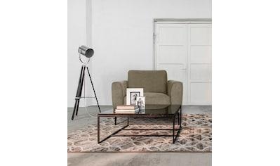 Places of Style Sessel »Odda«, mit Metallfüßen in besonderem Design kaufen