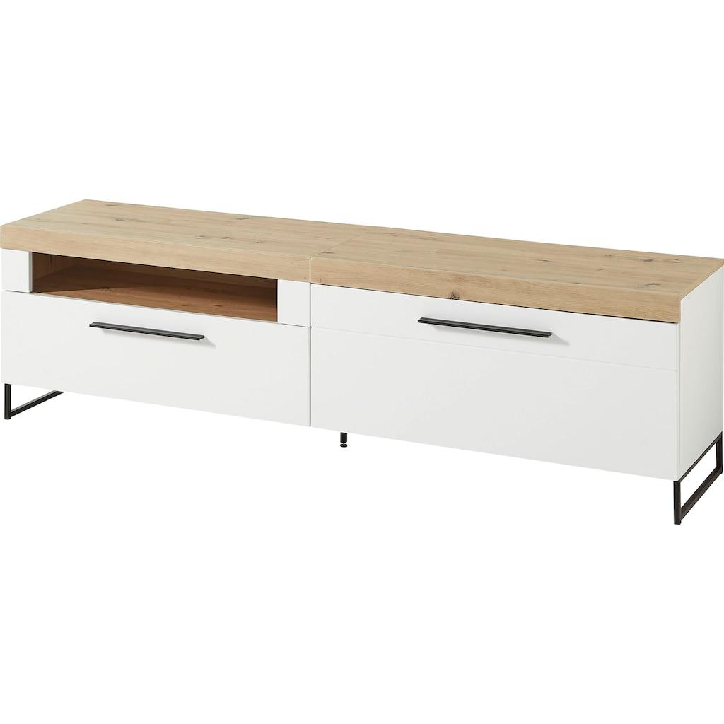 Innostyle Lowboard »Loft Two«, Breite 192 cm, 1 Klappe, 1 offenes Fach, 1 Schubkasten