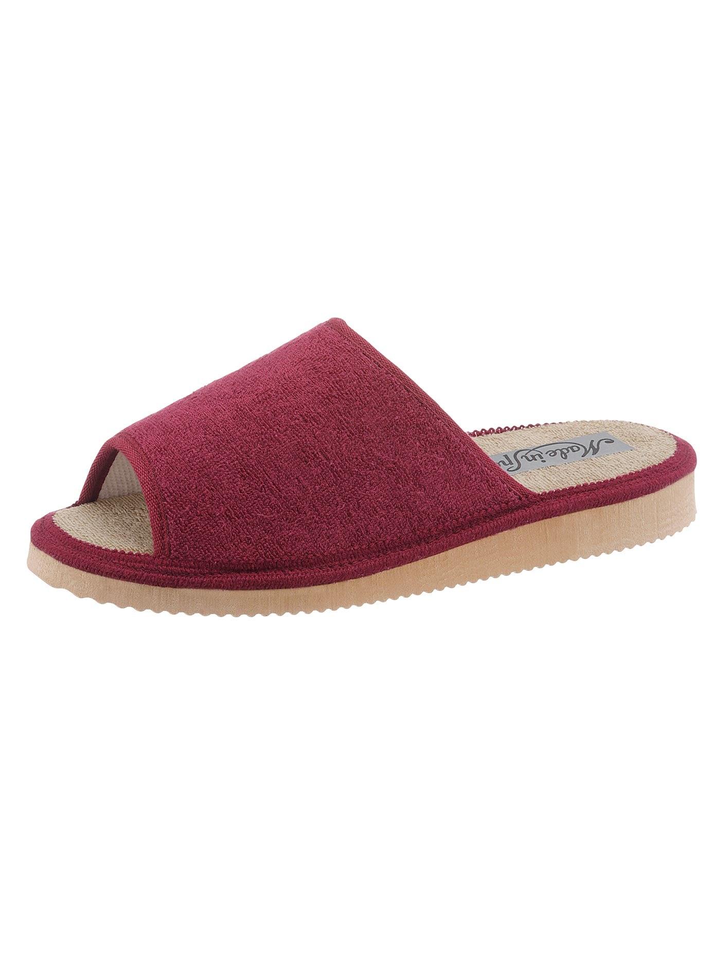 Pantoffel mit rutschhemmender EVA-Laufsohle | Schuhe > Hausschuhe > Pantoffeln | Rot | Classic