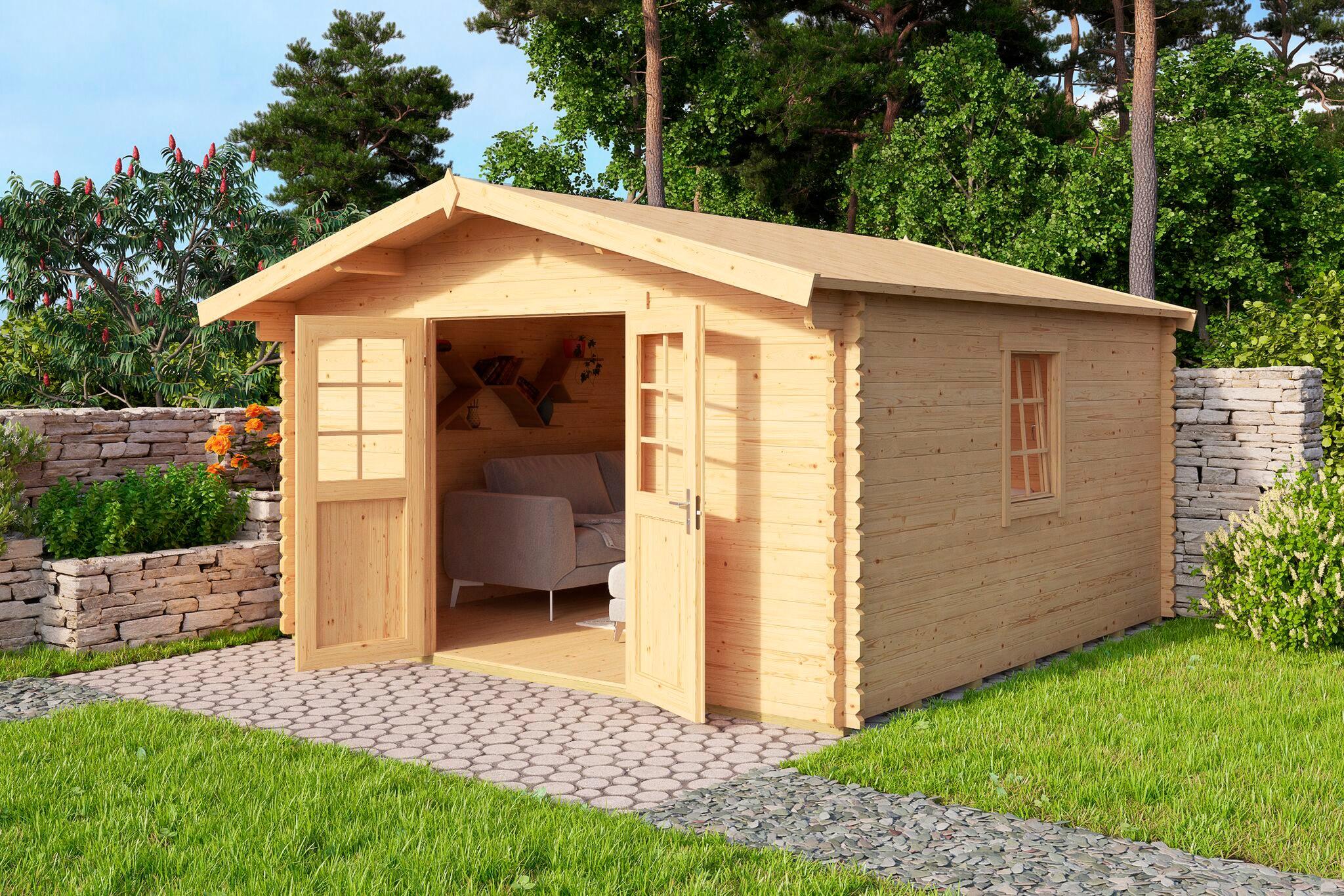 Gartenhaus Mit Fußboden Kaufen ~ Nordic holz gartenhaus nienstedten « bxt cm inkl