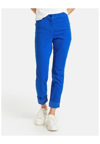 GERRY WEBER 5 - Pocket - Jeans »Jeans mit Turn Up Saum« kaufen