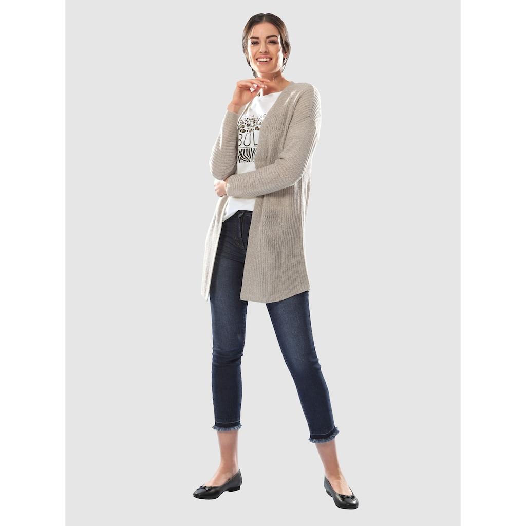Dress In Strickjacke mit tiefem V-Ausschnitt