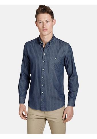 SHIRTMASTER Jeanshemd »greenwaters«, Baumwollhemd in Jeans Optik kaufen