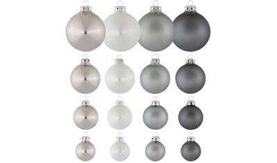 """Thüringer Glasdesign Weihnachtsbaumkugel """"Chrome"""" kaufen"""