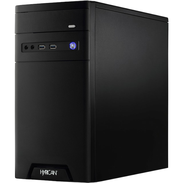 Hyrican »CyberGamer 6476 + Philips 243V7Q + HP Officejet 3833«« PC-Komplettsystem (Intel, Core i5, GeForce)