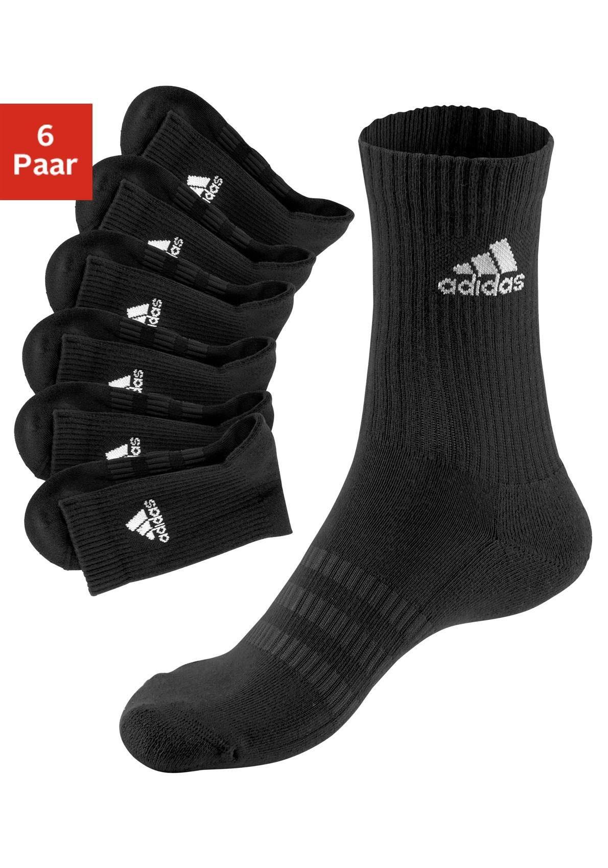 TOPSELLER: adidas Performance Tennissocken (6 Paar) Herrenmode/Wäsche & Bademode/Wäsche/Socken/Sportsocken/Tennissocken