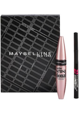 """MAYBELLINE NEW YORK Make - up Set """"Lash Sensational Mascara und Hyper Precise Liquid"""", 2 - tlg. kaufen"""