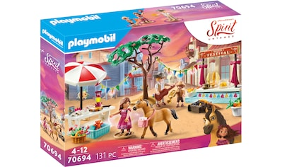 Playmobil® Konstruktions-Spielset »Miradero Festival (70694), Spirit Untamed«, Made in Germany kaufen