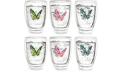 Creano Thermoglas »Colourfly«, (Set, 6 tlg.), 6-teilig kaufen