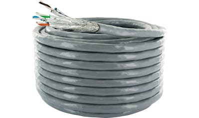 SCHWAIGER CAT6A Installationskabel, Netzwerkkabel, Ethernet LAN Kabel »Patchkabel ohne Stecker« kaufen