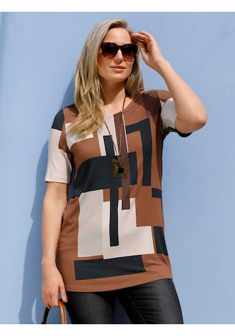 MIAMODA Print-Shirt, mit verschiedenen Brauntönen kaufen