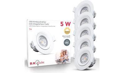 B.K.Licht LED Einbauleuchte »Alcor«, LED-Board, Warmweiß, LED Einbaustrahler Spots... kaufen